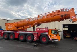 A new Liebherr mobile telescopic crane LTM 1230-5.1 for the company Megalift