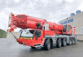 New mobile telescopic crane LTM 1230-5.1 for the company Neurauter
