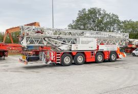 New mobile construction crane MK 88-4.1 for Manutention Jean Boutique