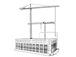 Liebherr bouwkraan